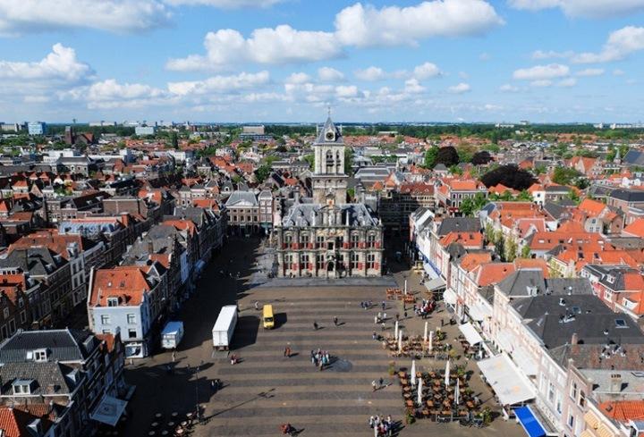Делфт – самый красивый город в Нидерландах