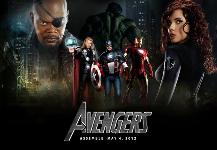 """Тор, Халк, Железный человек, Капитан Америка – в новом фильме """"Мстители"""""""