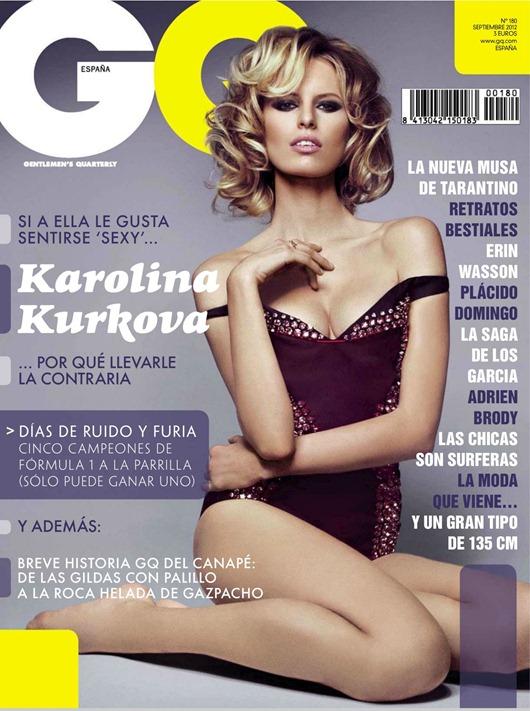 Каролина Куркова в GQ Magazine