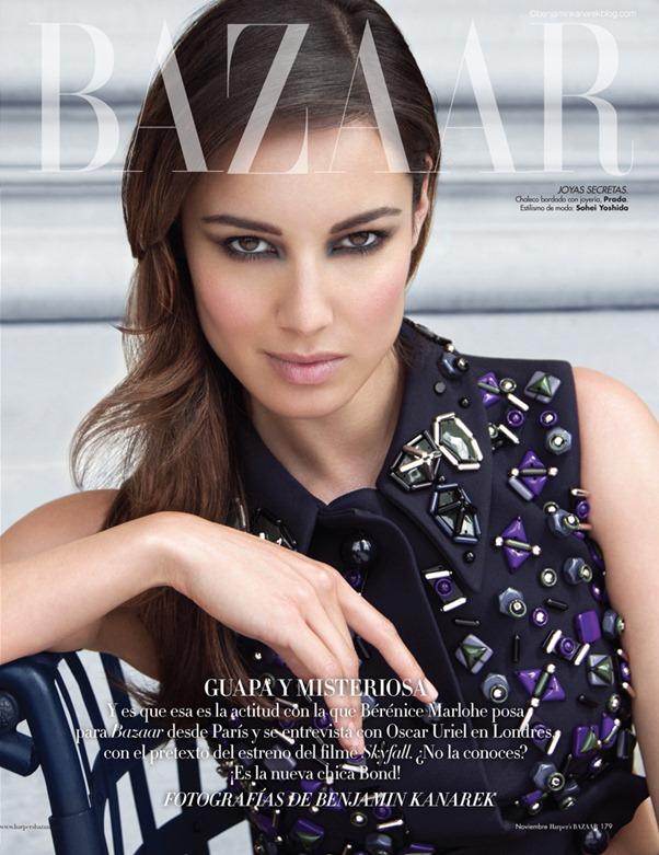 Девушка Джеймса Бонда в фотосессии для Harpers Bazaar