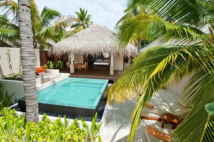 Роскошный дизайн безупречного отеля Ayada Maldives