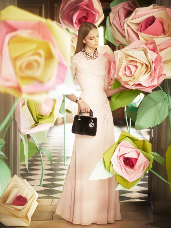 Рекламное видео от Dior