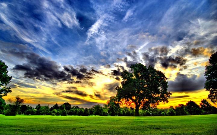 Рассветы и закаты в красочные фотографиях