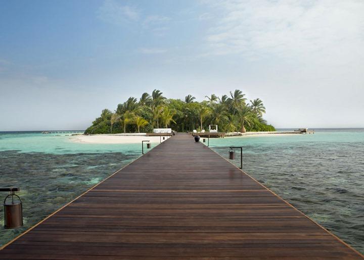 Блуждая в раю: изысканные виллы на частном острове на Мальдивах