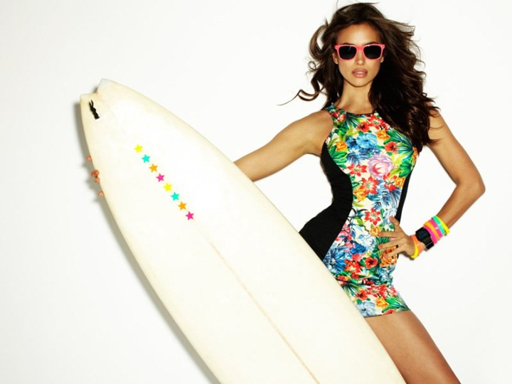 Ирина Шейк в рекламной кампании Blanco лето 2012