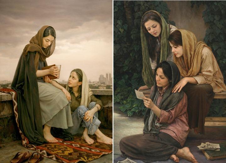 живопись известных художников: