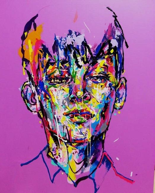 Рисунки художника Чжон Ах Лима