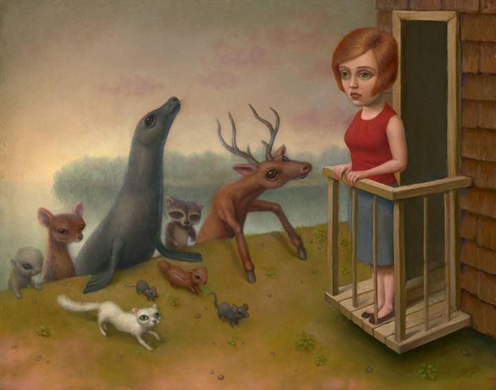 Картины Marion Peck