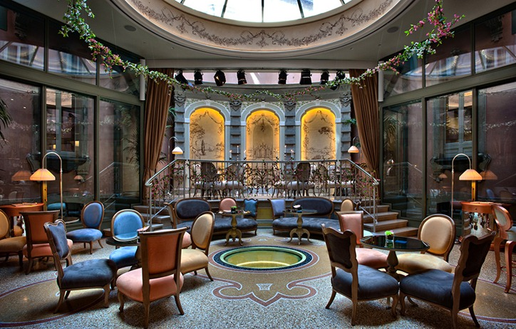 Сказочный отель Château Monfort в Милане
