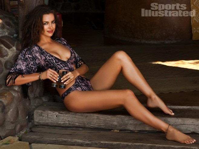 Ирина Шейк для специального выпуска Sports Illustrated