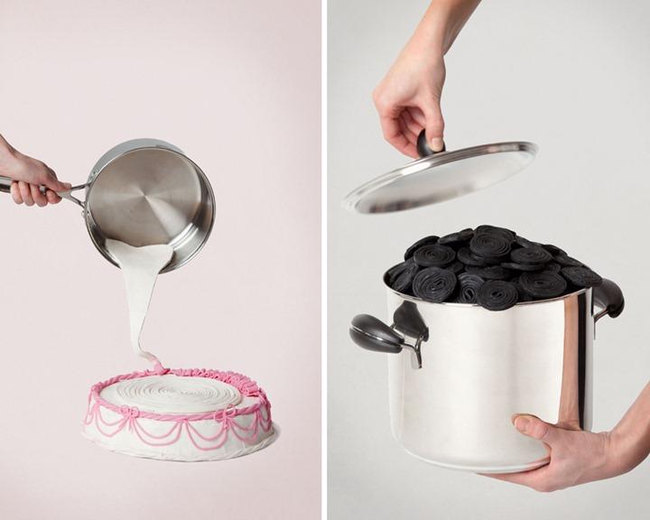 Креативные фотографии Alexandra Bruel