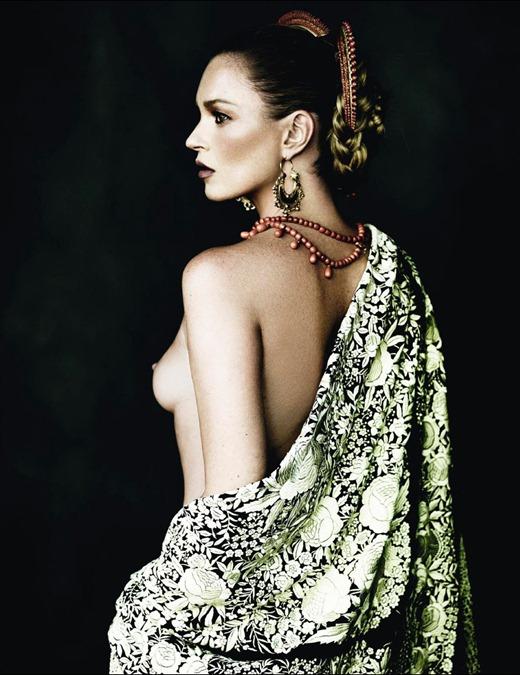 Кейт Мосс и Марио Тестино для Vogue Spain