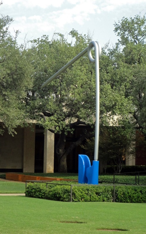 Крупномасштабные скульптуры Claes Oldenburg и Coosje van Bruggen