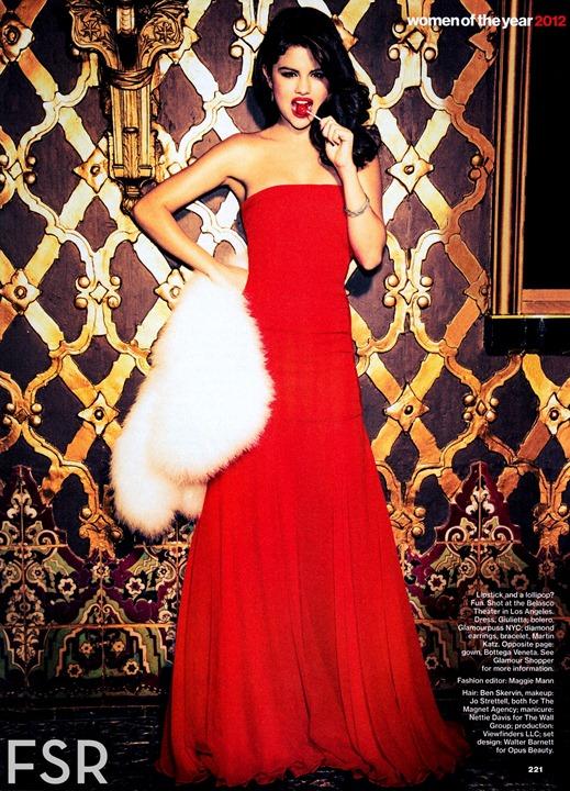 Селена Гомес   женщина года по версии Glamour