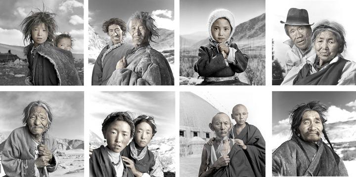 Жители Тибета от Фила Борджеса
