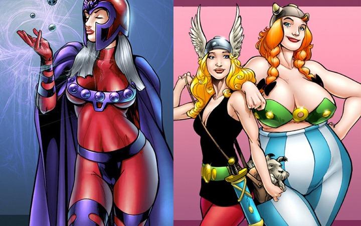 картинки женщины супергерои