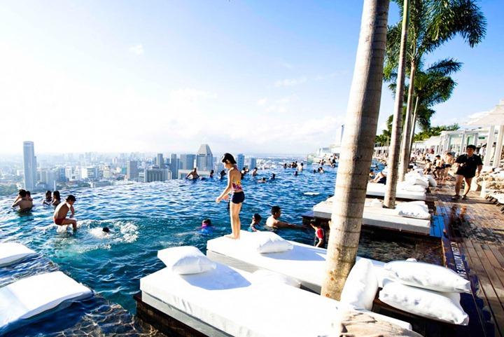 """Отель """"Marina Bay Sands"""" в Сингапуре"""