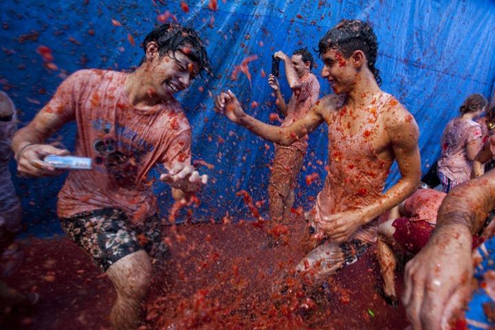 Томатный фестиваль 2012