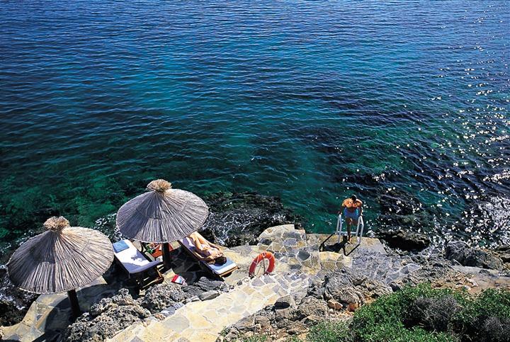 отели в греции с спа: