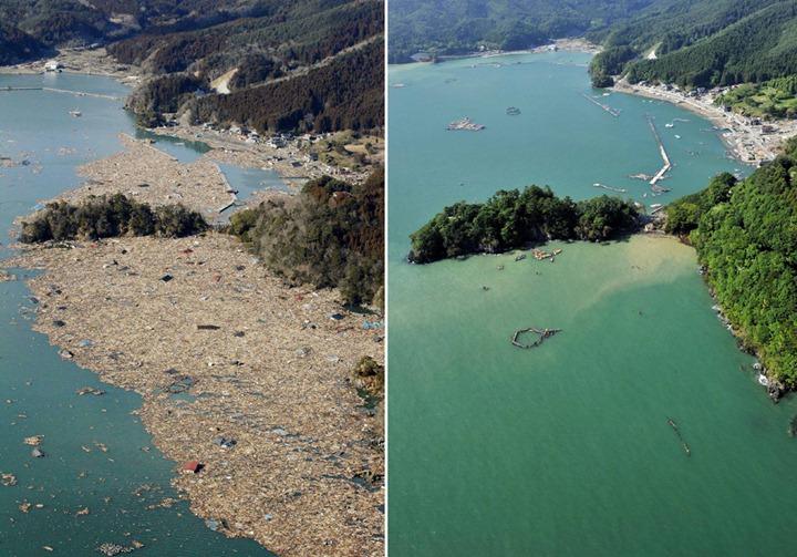 Япония спустя три месяца после землетрясения