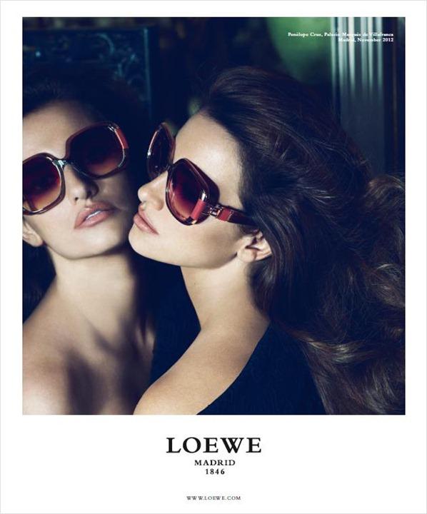 Пенелопа Крус в рекламной кампании Loewe