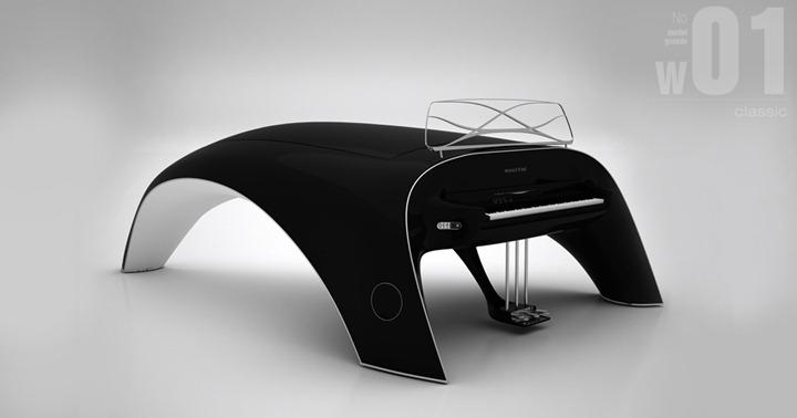 Уникальное электрофортепиано от Роберта Майкута