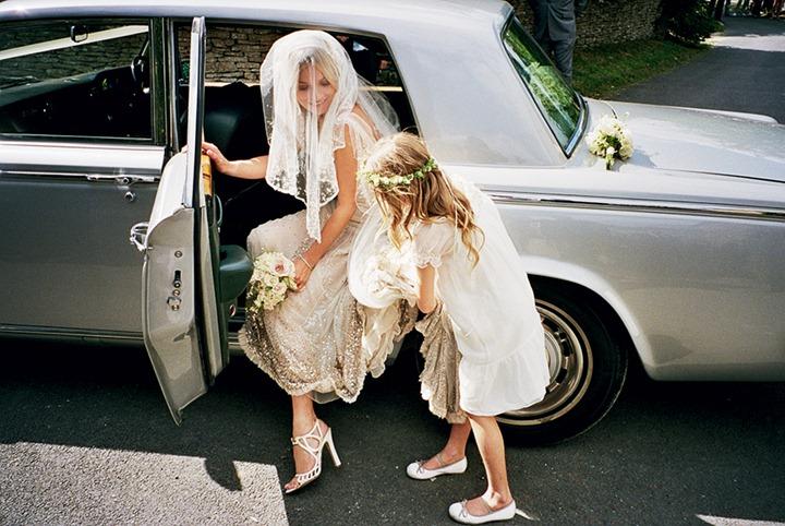 Свадебные фотографии Кейт Мосс в сентябрьском номере Vogue US