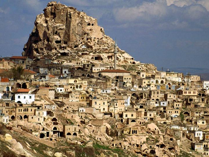 Удивительные пейзажи Каппадокии, Турция