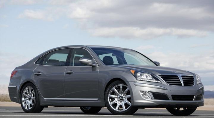 Бизнес седан Hyundai Equus 2012