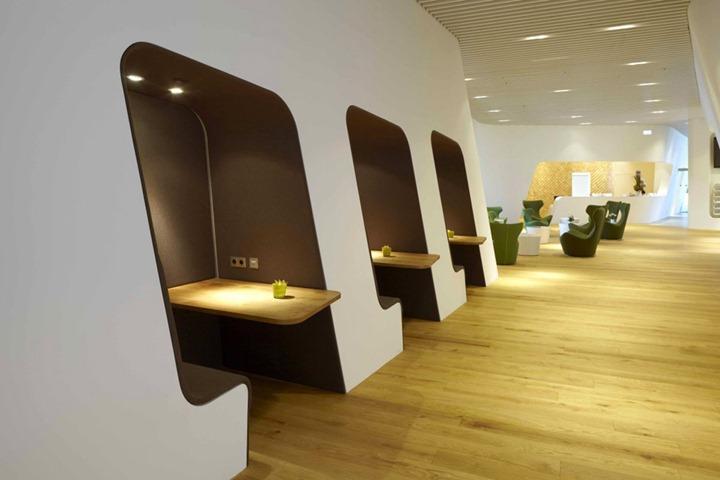 Комната отдыха в Мюнхенском аэропорту