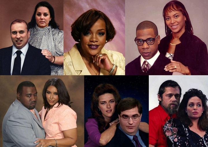 Знаменитости как обычные люди