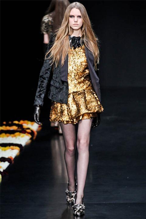 Неделя моды в Милане: Roberto Cavalli осень зима 2012/2013