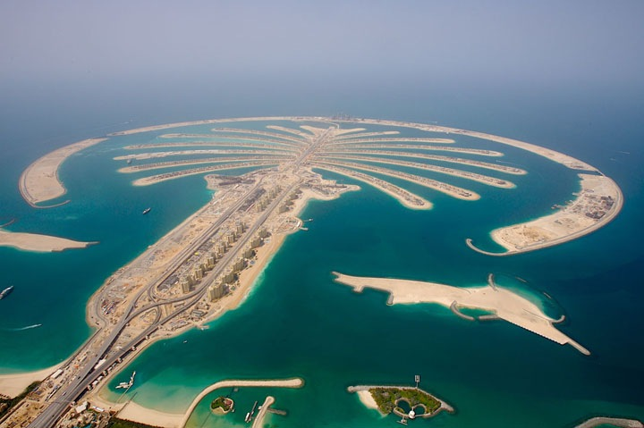Пальмовый остров в Дубае   амбициозный проект
