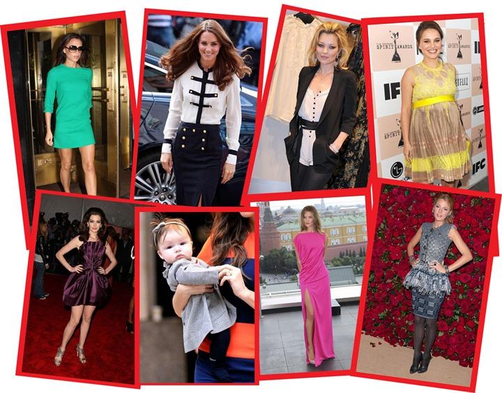Самые стильные знаменитости 2011