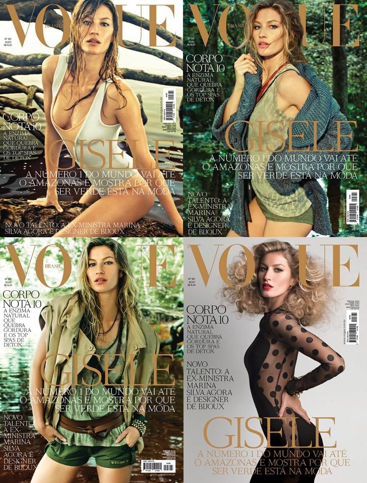 Жизель Бундхен в Vogue Brasil