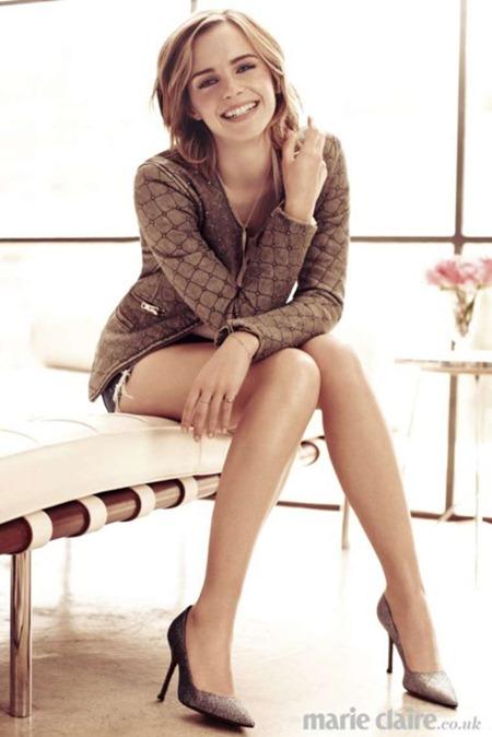 """Эмма Уотсон: """"Я – свой самый жестокий критик. Это одновременно мешает и помогает мне, побуждая к новым свершениям"""""""