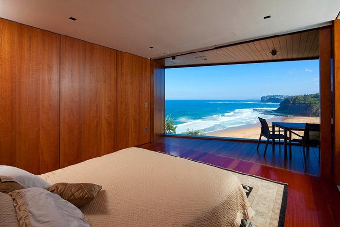 Дом с эффектом «Вау»: извивающийся возле океана