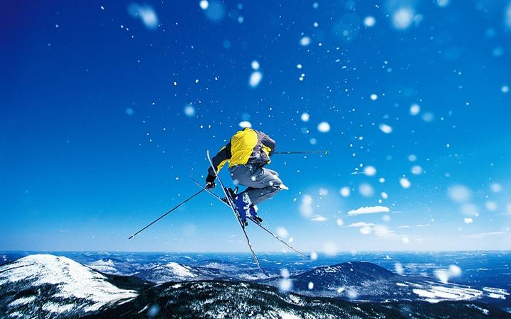Активный отдых  горнолыжный спорт