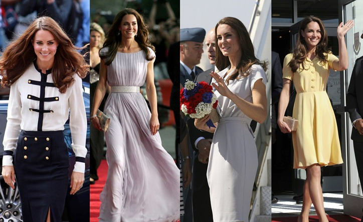 Элегантная герцогиня Кембриджская