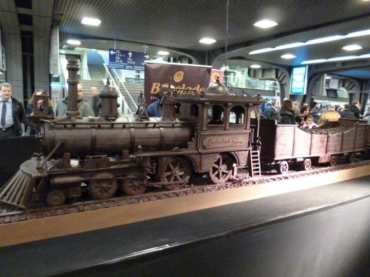 Самый большой в мире шоколадный поезд – новый рекорд Книги Гиннеса