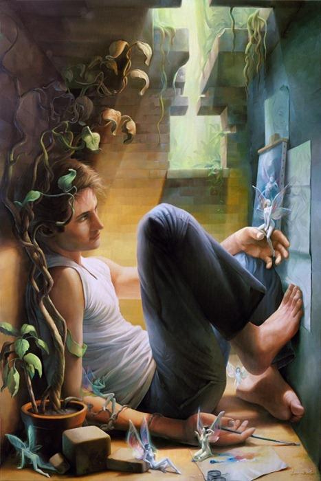 Красивые картины Майкла Занкана