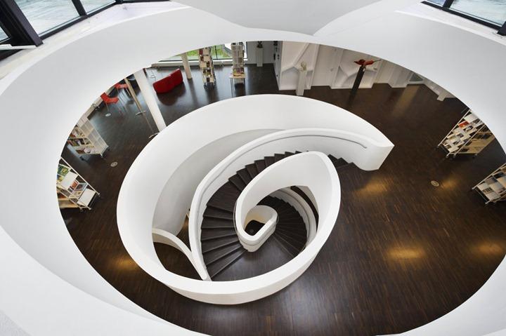 Media Centre Oberkirch – арихитектурный проект от Wurm + Wurm Architects