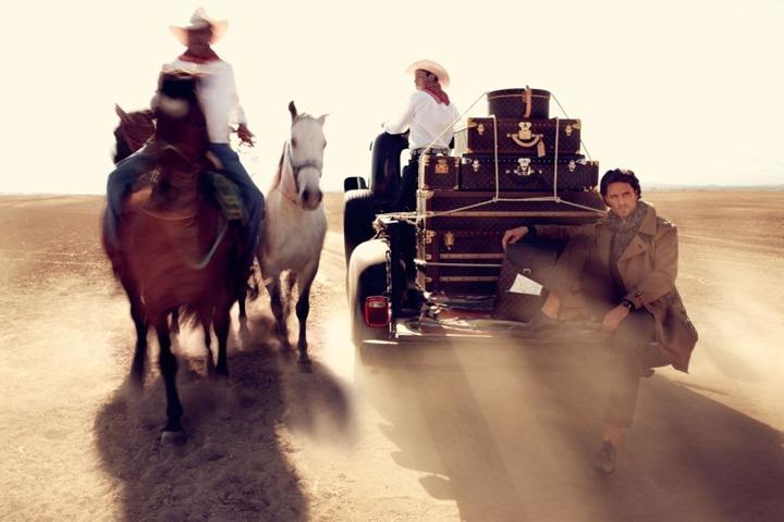 Новая рекламная кампания Louis Vuitton