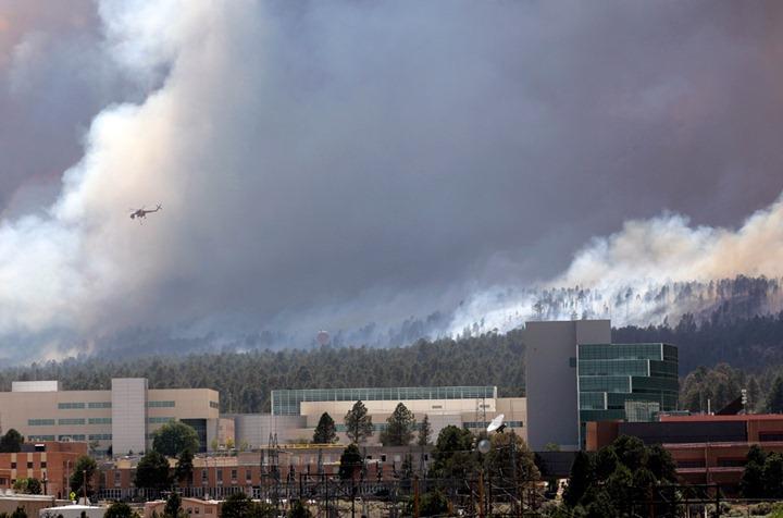 Угроза ядерной лаборатории в Лос Аламосе снижена до минимума
