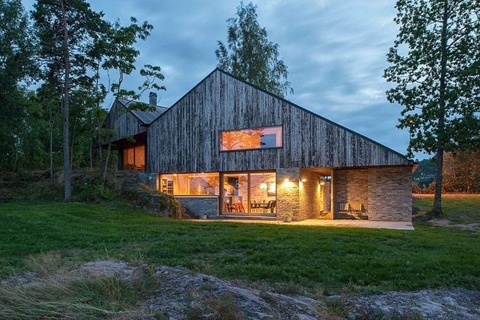 Дом у моря в Норвегии