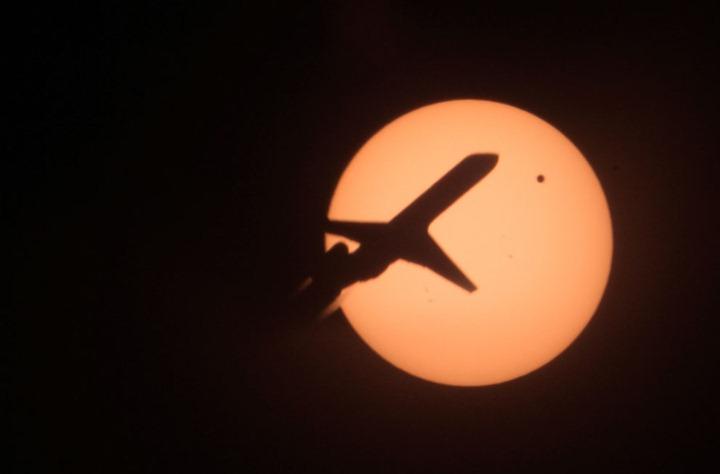 Транзит Венеры по диску солнца 2012