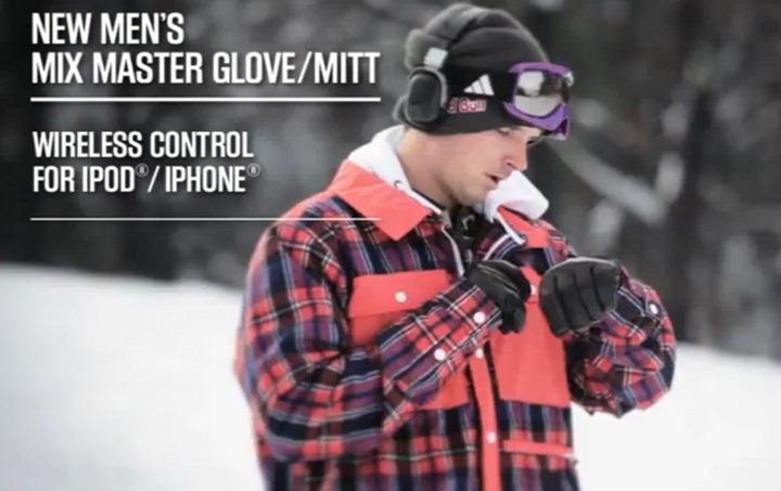 iPhone гаджет для сноубордиста