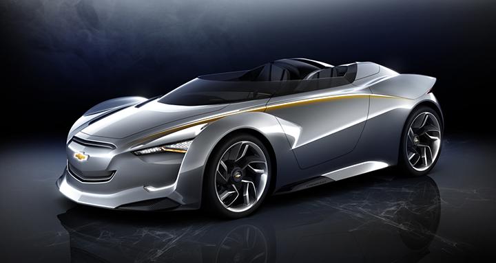 Chevrolet MiRay Concept:  Сеул Мотор Шоу 2011