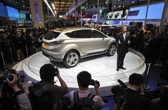 Новинки шанхайского автосалона